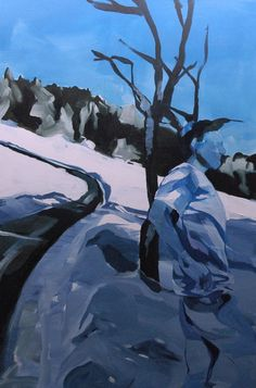 SnowGlassHuman 130 x 80 cm Acrylic/Canvas Acrylic Canvas, Mount Everest, Paintings, Mountains, Nature, Travel, Naturaleza, Viajes, Paint