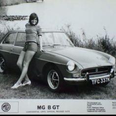 Original MGB GT Press Photo