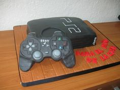 play station Playstation Cake, Video Games, Cakes, Birthday, Videogames, Birthdays, Cake Makers, Kuchen, Video Game