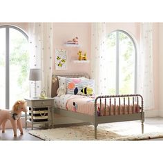 Shop Crate and Barrel for high quality kids furniture; including kids bedroom furniture, baby furniture for your nursery, playroom furniture and more. Bed Reviews, Twin Quilt, Full Bed, Grey Bedding, Little Girl Rooms, Queen Beds, Girls Bedroom, Bedroom Ideas, Kid Bedrooms