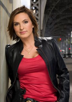 Law & Order SVU, and she is just beautiful.
