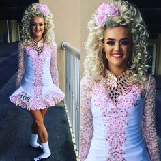 """1,181 Likes, 4 Comments - Rising Star Designs (@risingstardesigns) on Instagram: """"We LOVE your new look Niamh!! You look stunning. Best of Luck at the Irish Nationals.…"""""""