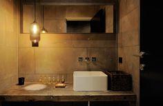 30 idee per l'illuminazione bagno// specchio orizzontale e lampada