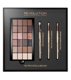 Makeup Revolution - Set Ojos y Cejas HD Pro