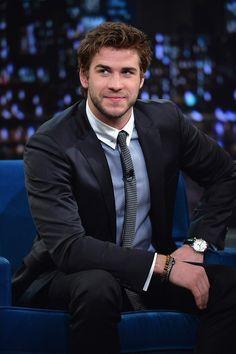 Liam Hemsworth: if John Krasinski and Chris Hemsworth had a child...
