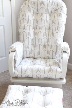 Baby Rocking Chair Cushions Rocking Chair Cushions Pinterest