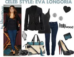 """Celeb Style: Eva Longoria"" by lilmissmegan on Polyvore"