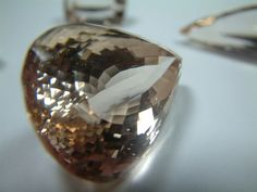 Faceted Topaz . from Pakistan