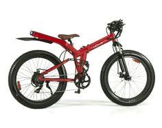 MOAR Fat Tire Electric Bike – 60 Mile Range, 20mph Top Speed