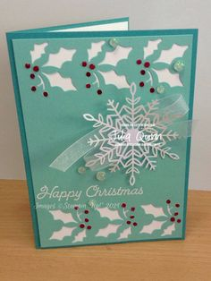 handmade by Julia Quinn - cardmaking and supplies: Sketch challenge CTC#338 Happy Images, Cardmaking, Stampin Up, Challenges, Mini, Projects, Christmas, Handmade, Design