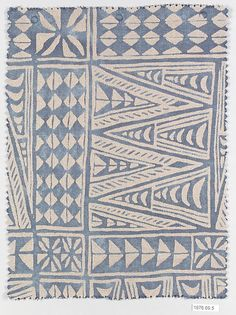 "Melilla, Fortuny  (Italian, founded 1906) ~ patterns have been around forever. This older piece looks ""Zentangle inspired"""