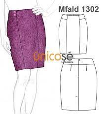 Resultado de imagen para patrones de faldas largas