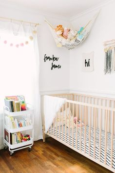 A Sweet, Art-Filled Space For Baby Frankie James