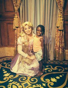 Kennedi with Rapunzel