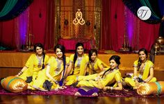 Pakistani wedding - bridemaids photography
