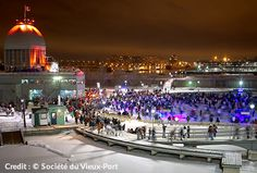 The holiday season is the ideal time to enjoy all the winter activities that Montreal offers. Discover these 7 activities to do during your long vacation! Activities To Do, Winter Activities, Skating Rink, Old Port, Canada, Montreal, Skate, Dolores Park, Things To Do