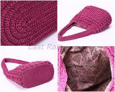 crochet crochet bag shoulder bag handbag handmade girl by EastRain