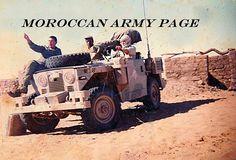 BGM-71 TOW missile + Santana 88 4x4 Jeep during Western Sahara War.