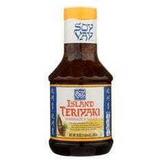 Soy Vay Island Triyaki - Marinade And Sauce - Case Of 6 - 20 Fl Oz.