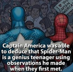 We all love Marvel. Iron man is our favorite super hero. But do you know some amazing facts about Marvel ? Here are more than 65 facts which will give you goosebumps. Marvel Facts, Marvel Jokes, Marvel Funny, Marvel Heroes, Marvel Dc, Marvel Comics, Spider Man Facts, Comic Movies, Comic Books