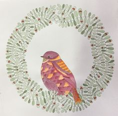 My Colouring Millie Marotta Animal Kingdom Bird Oiseau