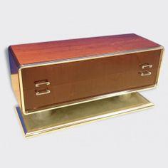 Commode en palissandre design vintage 70