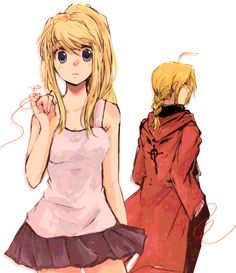 a promise to keep winry and edward