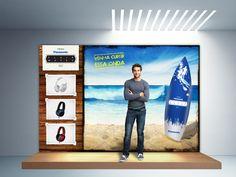 Stand desenvolvido para evento da Fluir / Panasonic