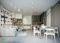 Charmant Relaxing Color Schemes In 3 Efficient Single Bedroom Apartments [With Floor  Plans]
