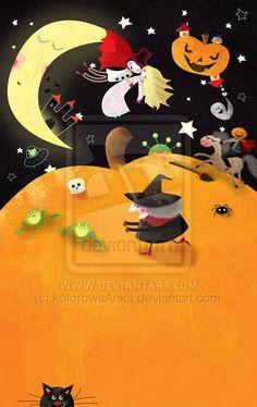 Pumpkin world by Anna Gensler