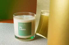 Citrus, Cinnamon & Vanilla By Laura candle.