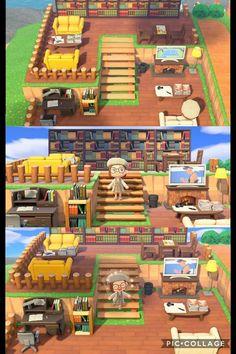 My new favorite part of my island! Animal Crossing 3ds, Animal Crossing Wild World, Animal Crossing Villagers, Animal Crossing Qr Codes Clothes, Animal Crossing Pocket Camp, Animal Games, My Animal, Ac New Leaf, Motifs Animal
