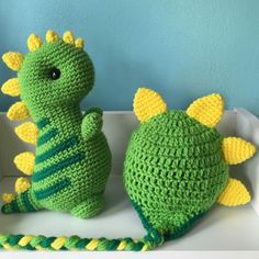 Kawaii T-Rex and hat set, crochet dinosaur plush, navy blue dinosaur, t-rex nursery decor, dino decor, baby boy dinosaur, kawaii amigurumi