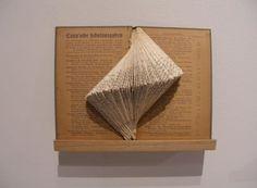 Book art.  craftnerd: August 2010.