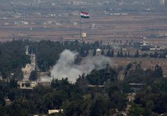 Israel Strikes Syrian military targets in response to stray fire