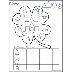 Four Leaf Clover Shapes Graph