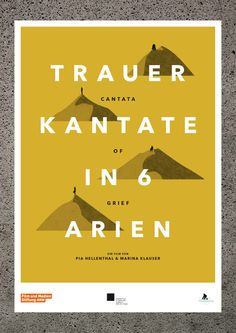 Trauerkantate / Cantata of Grief by Kerstin Bunke, via Behance