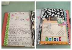 weight loss smash book 1 >> If your dreams and goals are in your head, they are merely fantasies. This looks like a fun way to get those out of your head and onto paper. I could get into this where scrapbooking...neatly arranging a few pictures on a page, just doesn't do it for me.