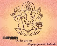 May Ganesh bring lots of happiness and prosperity in your lives. Happy Ganesh…