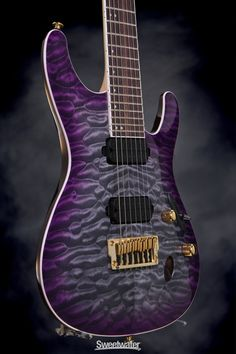 Ibanez S5527QFX - Dark Purple Doom Burst.. Always wanted a purple Ibanez too. Love this one! Want a purple guitar in general though, my awesome brother is making me one :)