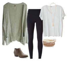 """""""Untitled #1443"""" by elephant10 ❤ liked on Polyvore featuring Free People, NIKE, UNIONBAY and Clu"""