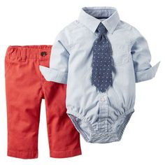 This little boy 3-piece shirt & pant set is the perfect combo for Easter.