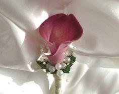Beach wedding boutonniere beach wedding buttonhole by UptownGirlzz