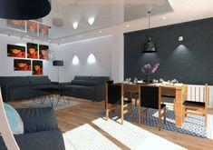 Jadalnia w domu szeregowym w Szczecinie, Pogodno 2019 – REMA DESIGN Conference Room, Table, Furniture, Home Decor, Decoration Home, Room Decor, Tables, Home Furnishings, Home Interior Design