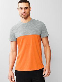 Gap   Urban Active pieced colorblock t-shirt