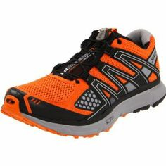 Salomon XR Mission Mens Trail Running sneakers / Shoes - Orange :Disclosure :Affiliate Link