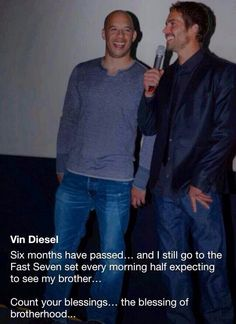 Vin and Paul...i am going to make myself cry in school if i keep looking at these.