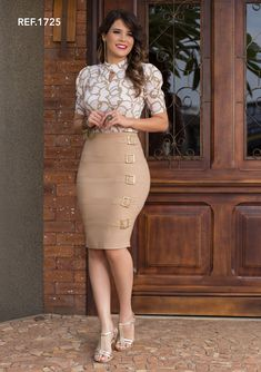 foto Business Casual Outfits, Office Outfits, Dress Skirt, Bodycon Dress, Pencil Skirt Outfits, Corporate Attire, Power Dressing, Work Attire, Modest Dresses