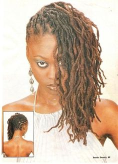 Healthy looking locs - stunning style