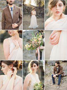 nature inspired wedding | vintage groom look | simple bridal look | #weddingchicks